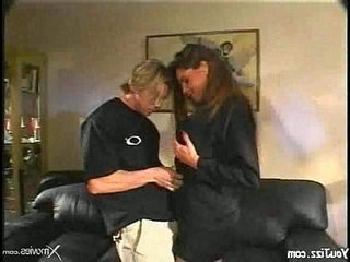 sexy bitch getting her pussy and fucked while being watched by a girl porn tube